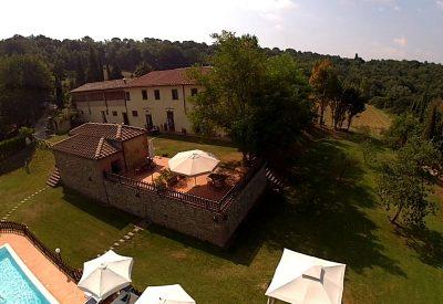 Agriturismo in Toscane met zwembad en restaurant